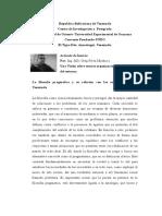 La filosofía pragmática y su relación con Las organizaciones industriales en Venezuela.
