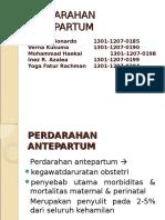 CSS Perdarahan Antepartum.ppt