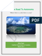 White Paper on the Road to Autonomy