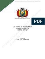 LEY DE AUTONOMIAS Y DESCENTRALIZACION.pdf