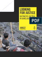 Amnesty International on Pilkhana Incident