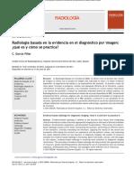 11 Radiología Basada en La Evidencia en El Diagnóstico Por Imagen. ¿Qué Es y Cómo Se Practica [2011]