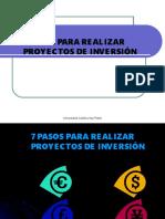 7 Pasos Para Formular Proyectos
