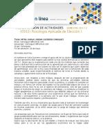 PROGRAMACIÓN DE ACTIVIDADES 0502 2017-2