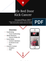 little red door kick cancer final presentation