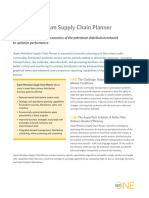 Aspen Petroleum Supply Chain Planner Brochure