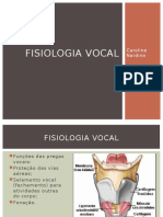 Fisiologia Vocal