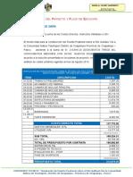 1.2. Costo Del Proyecto y Plazo de Ejecucion