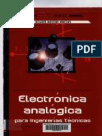 Electrónica Analógica Para Ingenierias Técnicas - Miguel Macías