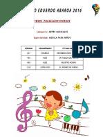 Obras Preclasificadas - Música Para Niños
