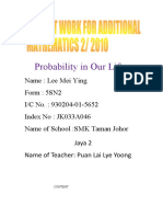 Probability in Our Life