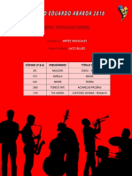 Obras Preclasificadas - Jazz-Blues
