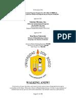 2. Revised Project Narrative (11.28.2016) - Salesian Missions El Salvador