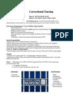 correctional nursing presentation