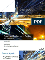 Design and Deployment of Outdoor Wireless Mesh