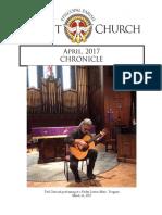 Christ Church Eureka April Chronicle 2017