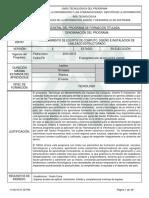 Estructura Curricular MECDICE