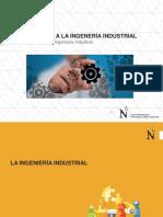 Clase N°01 Introducción Ingeniería Industrial