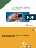 Clase N°02 El Ingeniero Industrial y la empresa