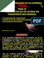 TEMA 3 Sistemas de Transporte Resumen Transporte multimodal AD2016 Diciembre.pdf