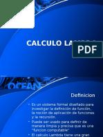 Calculo Lambda Definicion