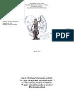 Esquema de La Prueba en El Código de Procedimiento Civil, Art.- 388 – 515