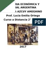 Historia Económica y Social Argentina 1820-1850