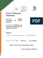 Competencias Laborales Del Ingeniero Industrial