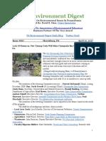 Pa Environment Digest April 10, 2017