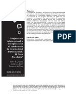 Cooperación Internacional en El Combate Al Crimen, El Caso Brasileño