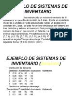 Ejemplos de Simulacion Manual2