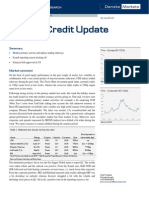 JUL 16 Danske Research Weekly Credit Update