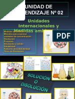 6.- Soluciones o Disoluciones Y Medidas de Concentración (1)