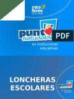 Loncheras Saludables - Presentación