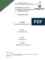 Apliación de integrales a la economía.docx