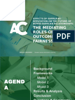 Apollo Creatives - The Mediating Roles of Outcome Fairness and Trust