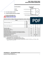 Bourns TIP35 S Datasheet