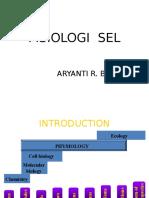 Fisiologi Sel & Homeostasis