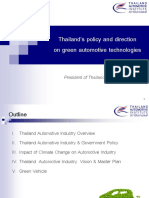 1 Keynote Thailands Policy and Direction on Green Automotive Technologies[1]