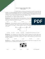 Examen Canguro Matematico Nivel Cadete 2004
