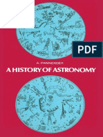 History of Astronomy - Anton Pannekoek
