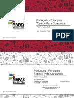 MAPA MENTAL DE PORTUGUÊS