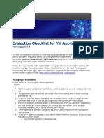 Evaluation VM Appliance