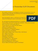 LLP Complete Document List