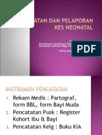 Pencatatan Pelaporan Kes Neonatal (1)