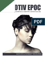 Emotiv EPOC Product Sheet 2014