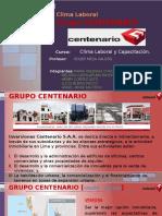 Trabajo Clima Laboral - Grupo Centenario