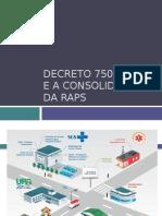 Decreto 7508 e RAPS