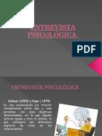 ENTREVISTA PSICOLÓGICA