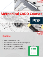 Mechanical CADD Course